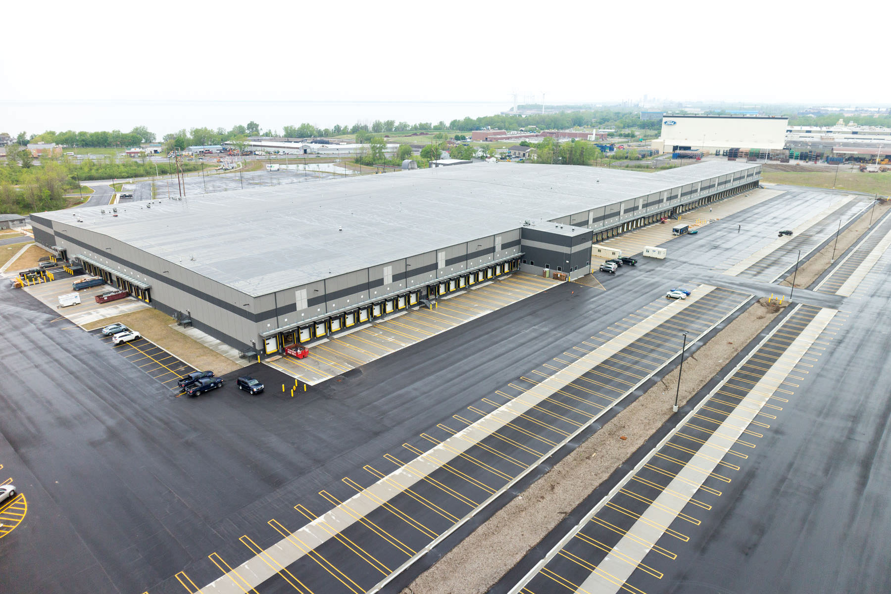 Fedex Ground Hub Distribution Center Expansion The Pike