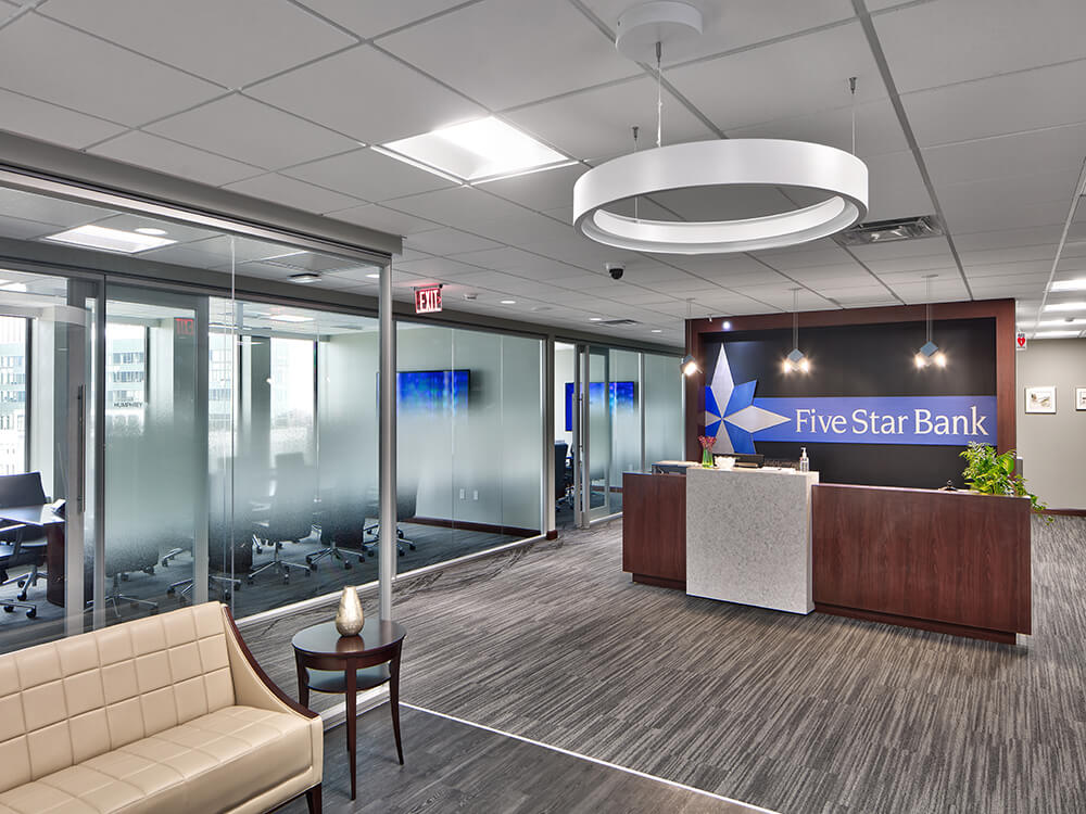 Five Star Bank Office Fit Out The Pike Company